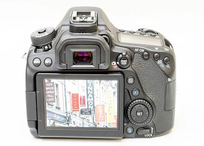 DIGIC6 80d wind speed camera