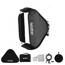 سافت باکس اسپیدلایت گودکس Godox S2 Speedlight Bracket With 60x60cm Softbox
