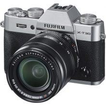 دوربین بدون آینه فوجی FUJIFILM X-T30 Mirrorless kit 18-55mm Silver