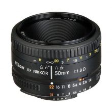 لنز نیکون Nikon AF NIKKOR 50mm f/1.8D -دست دوم