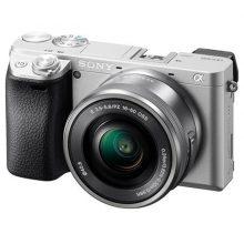 دوربین بدون آینه سونی Sony Alpha a6400 kit 16-50mm Silver Argento